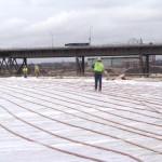 concrete cure hoses