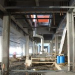 construction heaters chm 2000-1200 in parkade