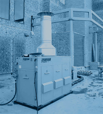 Construction Heating Systems by DryAir