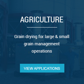 Grain drying for large & small grain management operations