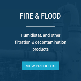Fire and flood products for restoration projects