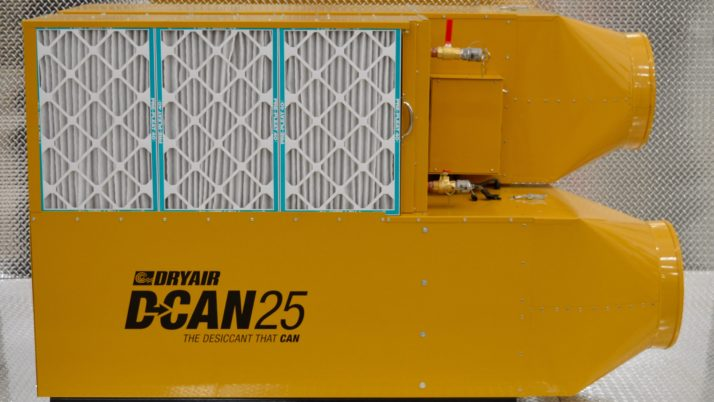 D-CAN 25 – Desiccant Dehumidifier