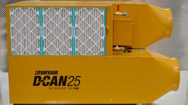 D-CAN 25 – Desiccant Dehumidifier