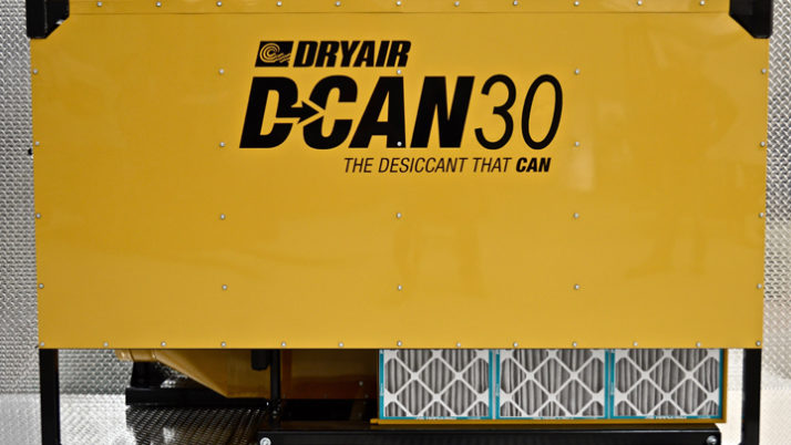 D-CAN 30 – Desiccant Dehumidifier